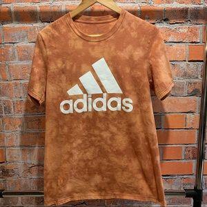 Custom made adidas acid wash tee
